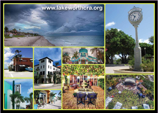 Lake Worth CRA Postcard