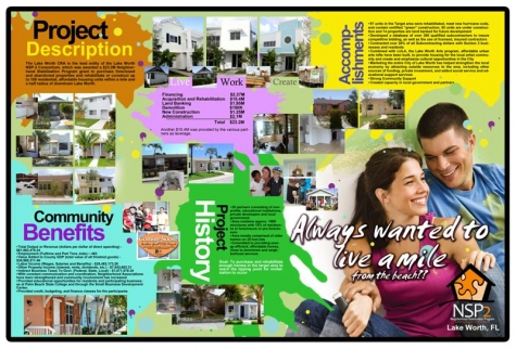 Image of Lake Worth NSP2 Program brochure