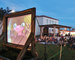 Screen on the Green outdoor movies in Lake Worth