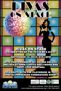 Divas On Stage Flyer