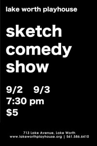 Sketch Comedy Show Flyer