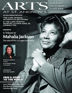 A Tribute to Mahalia Jackson flyer