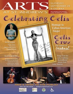 Celebrating Celia Cruz flyer