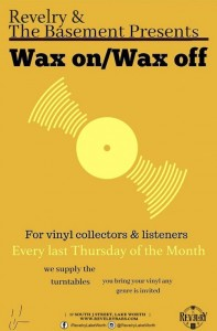 Wax On Wax Off flyer