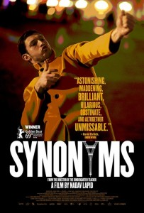 SYNONYMS movie poster