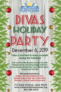 Divas Holiday Party event poster