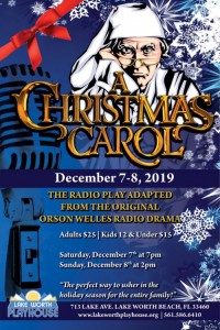 A Christmas Carol Radio Play poster