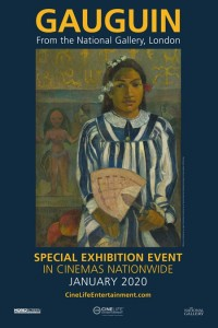 PAUL GAUGUIN Exhibit move poster
