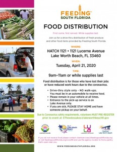 Feed South Florida flyer in English