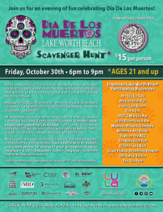 Image promoting scavenger hunt