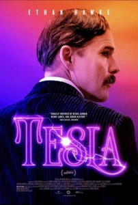 Tesla movie poster