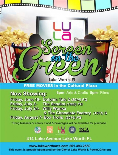 Free movies downtown Lake Worth