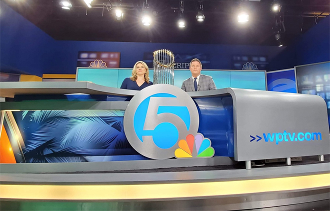 wptv tv news set