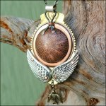 Clay Glass Metal Stone Gallery: Winged Copper Neck