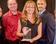 Image of Lake Worth CRA accepting FRA Award